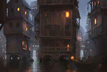 Fantasy/medieval exteriors – poor