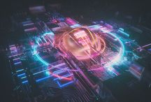 abstract c4d