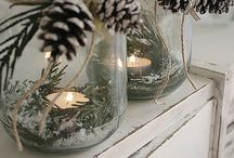 JUL! (Christmas Ideas) / Ideer til hjemmelaget julepynt og dekorasjoner.  Ideas for diy christmas decorations etc.