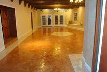 ELegant Stained Concrete Floors