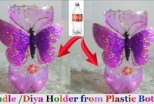 műanyag flakon