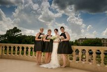 Bride and Bridesmaids / by Warren and Jackie Wedding Photography Brown's Photography