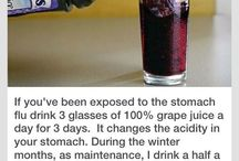Grape juice for stomach