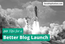 Blog Launch / Tips for a successful blog launch