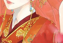 Anime pink, Kawaii, digital arts, flowers and diamonds