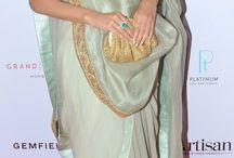 DRAPING DIFFERENT in Saree