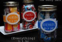 Mason Jars Gift Ideas