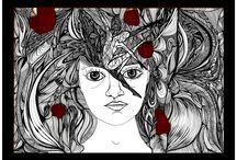 My work (mix media art & illustration)