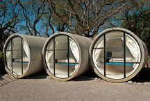 Weird and interesting Glamping ideas / These are not available at The Quiet Site (yet!)