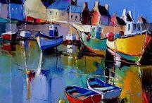 Boats/villages