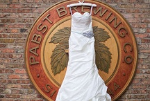Weddings & Wedding Receptions at Best Place / Various weddings and wedding receptions held at Best Place at the Historic Pabst Brewery. / by Best Place at the Historic Pabst Brewery