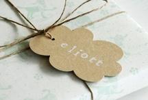 paper tags / papieranhänger