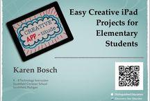 SCHOOL/iPads / by Karen Mann