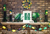 Let's Party - The St. Patrick's Day Edition / Whether you are having a St. Patrick's Day party or not, here are some great ways to celebrate and decorate.