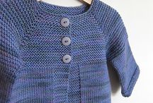 knitting babies, toddlers and children / designs to do / by Merrill Hayes