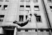 Free Running/Parkour / The art of displacement and the concept for my new novel, Free Runner.