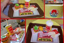 Top Fast Food Cakes / Wendy's,  McDonalds, KFC and more made into cake. #fast-food #top-cakes #cakecentral