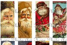 I love old fashion santas / He is the spirit of Christmas