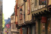 Patrimoine architectural aux alentours / Vannes, Auray, cités d'art et d'histoire, cités de caractère...