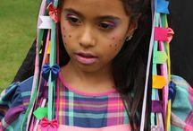 Vestidos festa junina infantil / Vestidos de festa junina, vestidos de festa caipira, caipira, traje junino, traje caipira.