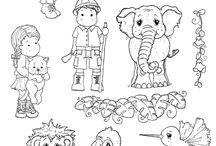 Kleurplaten voor kinderen en volwassenen