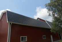 Barns and Agricultural Buildings / Protecting your livestock is essential - do it right with an American Metal Roof.