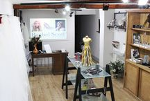 Our New Shop / The doors are finally open to our boutique accessories shop! We have filled it with bespoke jewellery, designer shoes, beautifully crafted accessories and every kind of veil imaginable!