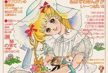 Vintage shojo manga & anime