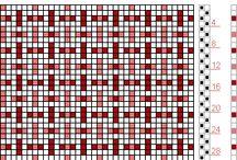 2 schachten patroon / Weefpatronen voor 2 schachten
