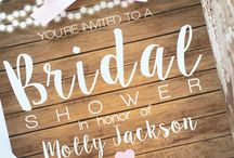 Wedding/bridal invitations