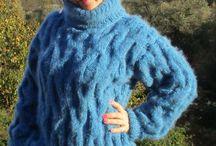Sweater mohair Blue Fuzzi