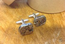 Lilly Dilly's bespoke cuff links