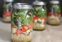Vegan Lunch in a Jar