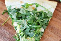 PIZZA PIZZA AND FLATBREAD / by Verania McPherson