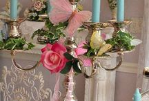 A shabby chic room
