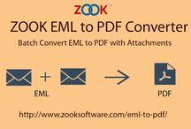 Batch File Conversion of EML to PDF