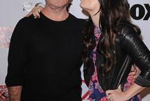 Simon & Demi Lovato