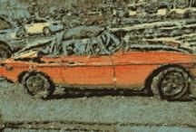 Car and Transportation Art