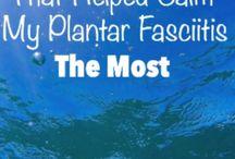 SF/ Plantar Fascilitis