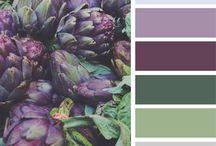 Fargekombinasjoner / Color palletes