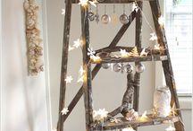 Ladder decorating