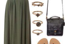 Мода-длинные юбки
