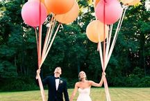 Balloons wedding