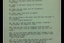 Seniors dinner riddles