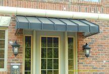 Roof /door canopy