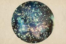 Dans les étoiles Héros / theme espace galaxy etoiles planete point de vue graphique motif