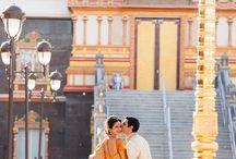Temple wedding Hindu