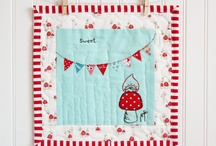 mini quilts / by PoppySeed/Kim Fabrics