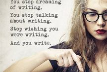 The writer in us