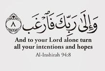 Qur'anic Ayahs.